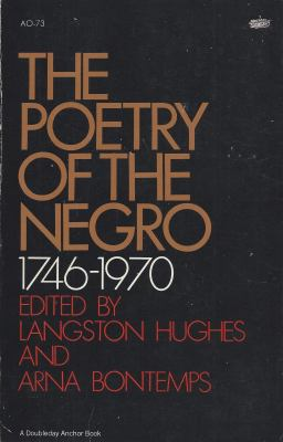 The poetry of the Negro, 1746-1970