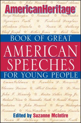 AmericanHeritage book of great American speeches for young people