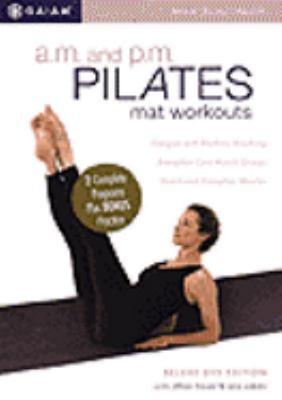 A.m. and p.m. Pilates mat workout
