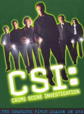 CSI, crime scene investigation. The complete first season