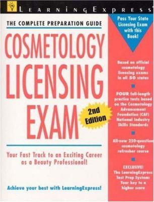 Cosmetology licensing exam.