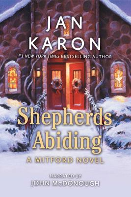 Shepherds abiding with Esther's gift and the Mitford snowmen