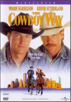 The cowboy way / Imagine Entertainment presents a Brian Grazer Production ; a Gregg Champion film ; executive producers, G. Mac Brown, Karen Kehela, Bill Wittliff ; story by Rob Thompson and Bill Wittliff ; screenplay by Bill Wittliff ; produced by Brian Grazer ; directed by Gregg Champion.