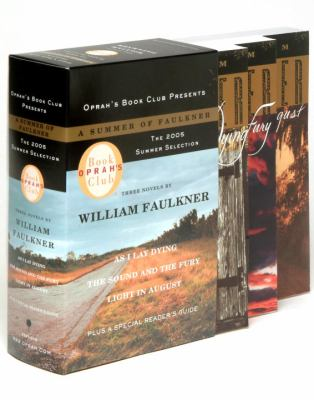 Three novels by William Faulkner : a Summer of Faulkner.