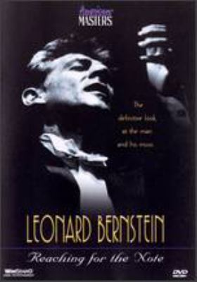 Leonard Bernstein reaching for the note
