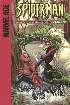 Spider-Man in Face-to-face with the Lizard!
