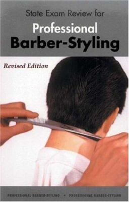State exam review for professional barber-styling