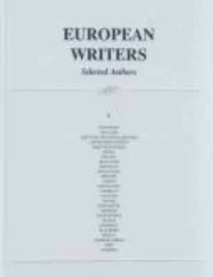 European writers. Selected authors
