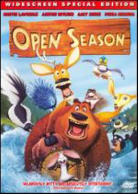 Open season / Columbia Pictures presents a Sony Pictures Animation film ; screenplay by Steve Bencich & Ron J. Friedman and Nat Mauldin ; screen story by Jill Culton and Anthony Stacchi ; produced by Michelle Murdocca ; co-director, Anthony Stacchi. ; directed by Roger Allers, Jill Culton.