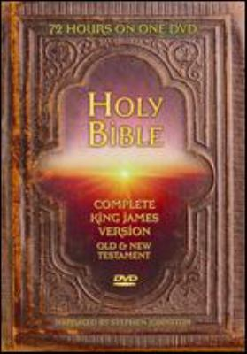 Holy Bible, complete King James Version : entire word-for-word KJV Bible : Old & New Testament