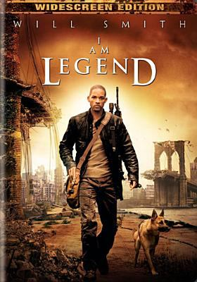 I am legend / Warner Bros. Pictures presents Village Roadshow Pictures in association with Weed Road ; Overbrook Entertainment ; 3 Arts Entertainment ; Heyday Films ; Original Film ; produced by Akiva Goldsman, David Heyman, James Lassiter, Neal H. Mortiz, Erwin Stoff ; screenplay by Mark Protosevich and Akiva Goldsman ; directed by Francis Lawrence.