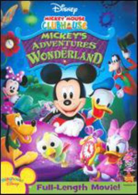 Mickey Mouse Clubhouse. Mickey's adventures in wonderland