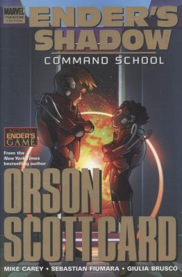 Ender's shadow. Command school