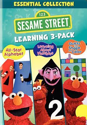 Sesame Street learning 3-pack [videorecording] : essential collection / Sesame Workshop.