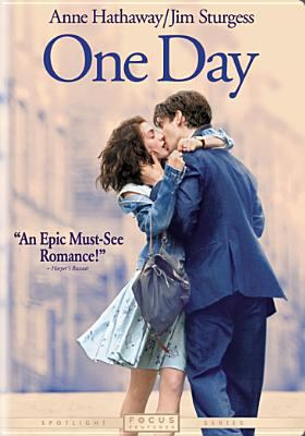 One day [videorecording] / Focus Features and Random House Films present, in association with Film4, a Color Force production ; produced by Nina Jacobson ; screenplay by David Nicholls ; directed by Lone Scherfig.
