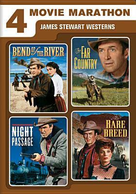 James Stewart westerns : 4 movie marathon
