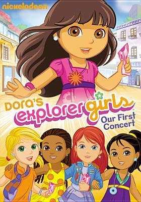 Dora's explorer girls. Our first concert