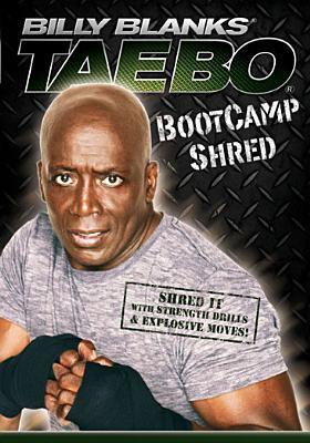 Billy Blanks. Tae bo bootcamp shred