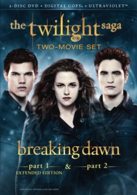 The Twilight saga. Breaking dawn, part 1 & part 2
