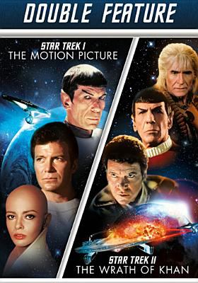 Star trek I. The motion picture Star Trek II. The wrath of Khan