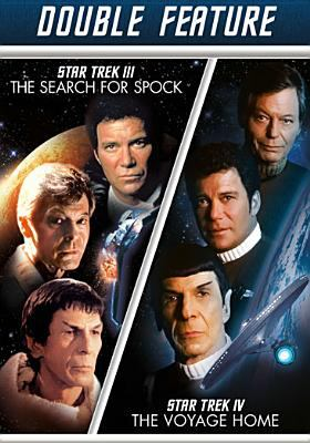 Star Trek III. The search for Spock Star Trek IV. The voyage home