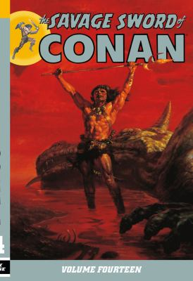 The savage sword of Conan. Volume 14