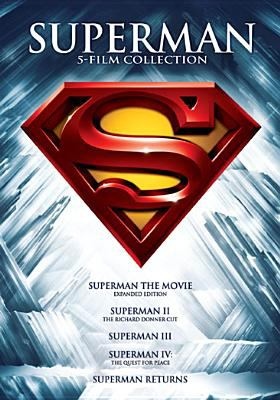 Superman 5 film collection.