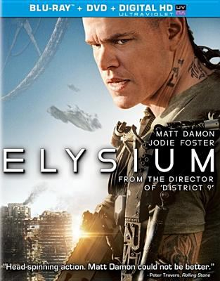 Elysium [videorecording] / TriStar Pictures presents ; in association with Media Rights Capital ; written and directed by Neill Blomkamp ; produced by Bill Block, Neill Blomkamp, Simon Kinberg ; a QED International production, an Alphacore production, a Kinberg Genre production.