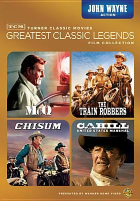 Turner Classic Movies greatest classic legends film collection. John Wayne action