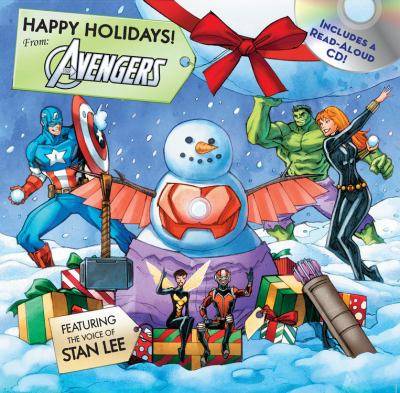 Happy holidays : from: the Avengers