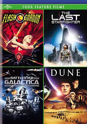 Four feature films : Flash Gordon; The last starfighter; Battlestar Galactica; Dune