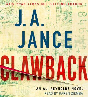 Clawback : an Ali Reynolds novel