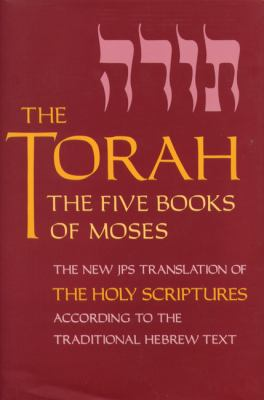The Torah : the five books of Moses : a new translation of the Holy Scriptures according to the Masoretic text. First section.