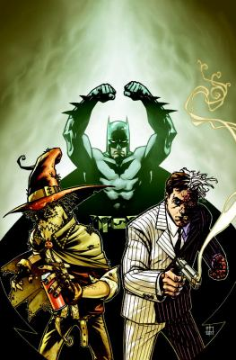 Batman, Two-Face and Scarecrow : year one