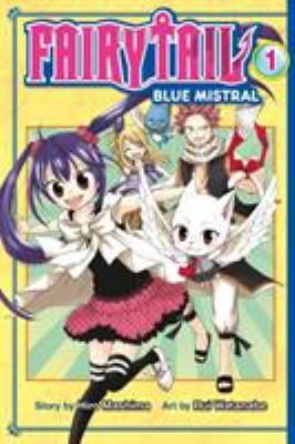 Fairy tail, blue mistral