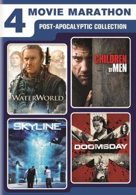 4 movie marathon. Post-apocalyptic collection.