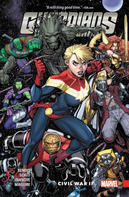Guardians of the Galaxy : New guard. Vol. 3, Civil War II / Brian Michael Bendis, writer ; Valerio Schiti (#11-13) & Kevin Maguire (#14), artists ; Richard Isanove, color artist ; VC's Cory Petit, letterer.