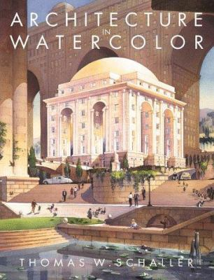 Architecture in watercolor