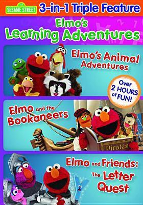 Sesame Street. Elmo's learning adventures triple feature