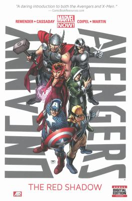 Uncanny Avengers. The red shadow