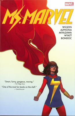 Ms. Marvel / writer, G. Willow Wilson ; artists, Adrian Alphona, Jacob Wyatt, Elmo Bondoc, Takeshi Miyazawa ; color artist, Ian Herring ; letterer, Joe Caramagna ; cover art, Sara Pichelli [and six others] ; assitant editors, Devin Lewis & Charles Beacham ; editor, Sana Amanat ; senior editors, Stephen Wacker & Nick Lowe.