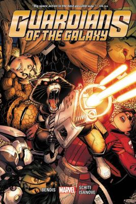 Guardians of the Galaxy. 4 / Brian Michael Bendis, writer ; Valerio Schiti, artist ; Richard Isanove, color artist ; VC's Cory Petit, letterer.