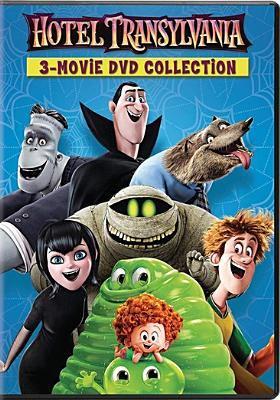 Hotel Transylvania : 3-movie DVD collection.