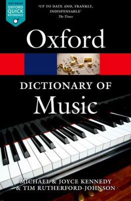 The Oxford dictionary of music / Michael Kennedy and Joyce Bourne Kennedy.
