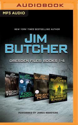 Jim Butcher, Dresden files, books 1-4