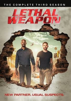 Lethal weapon. The complete third season.