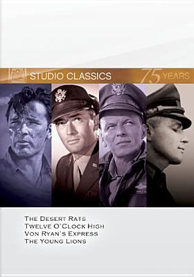 The desert rats ; Twelve o'clock high ; Von Ryan's express ; The young lions