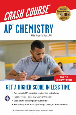 AP chemistry crash course / Adrian Dingle.