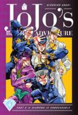 JoJo's bizarre adventure. Part 4, Diamond is unbreakable. 4