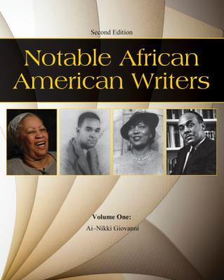 Notable African American writers / edited by Robert C. Evans.